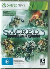 Sacred 3 First Edition Xbox 360 (Australian cover) ( Xbox One compatible)