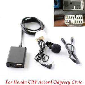 Car Music Digital Disc Box Player BT AUX Hands-Free Adapter For Honda CRV Accord