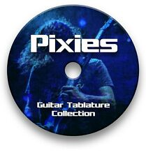 PIXIES ROCK GUITAR TAB TABLATURE SONG BOOK ANTHOLOGY TUITION SOFTWARE CD