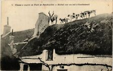 CPA  Chasse á courre en Forét de Rambouillet -Halali sur un toit á ...(246756)