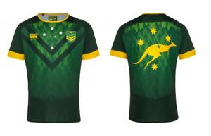 Canterbury Men's Rugby Jersey Australia Rugby Kangaroos Training Shirt - New