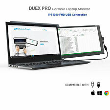 Mobile Pixels DUEX Pro Portable Dual-Screen Attachable Laptop Monitor, 12.5 Inch