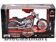 MAISTO 32327 2014 HARLEY DAVIDSON CVO BREAKOUT MOTORCYCLE 1:12 COPPER