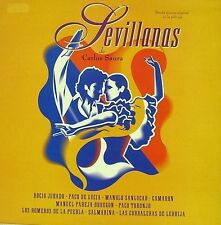 OST SEVILLANAS DE CARLOS SAURA LP VINYL 1992 SPAIN EXCELLENT COVER CONDITION-