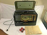 1950's Zenith Wave Magnet Trans-Oceanic Shortwave Radio H-500 Chassis 5H40