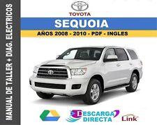 Manual de Taller Toyota Sequoia 2008-2010 + Diag. Eléct-Descarga Digital Link