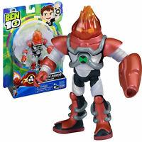 Ben 10 OMNI-KIX ARMOR HEATBLAST Spielzeug Action Figur 12,5 cm