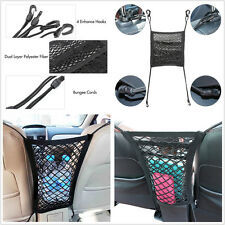 Universal 2 Layers Car Seat Storage Mesh/Organizer Cargo Net Thick Elastic Net