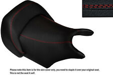 DESIGN 2 B RED DS STITCH CUSTOM FITS YAMAHA V MAX 1200 FRONT LEATHER SEAT COVER