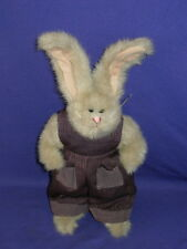 Vintage Jeremy Bunny Rabbit from The Ty Attic Collection Beanbag Plush w/o Tag