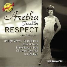 Respect & Other Hits by Aretha Franklin Cassette Do Right Woman Chain of Fools