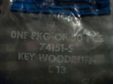 NOS 1968 - 1994 FORD 429 429CJ 429SCJ 429PI 460 CRANKSHAFT PULLEY WOODRUFF KEY
