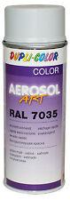 3x dupli COLOR BOTE SPRAY AEROSOL Artículo RAL 7035 GRIS CLARO acabado satinado