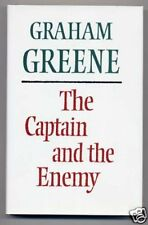 Graham Greene CAPTAIN AND THE ENEMY True First Edition!