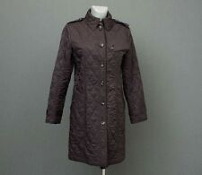 Burberry London Quilted Jacket Trench Coat Long Size S Small