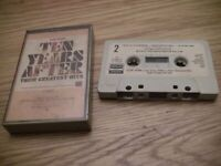 "Ten Years After ""Their Greatest Hits"" Cassette with paper label"