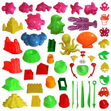 46pcs Deluxe Kinetic Mold for Sands Sand Molding Toys Activity Sand Art Kits