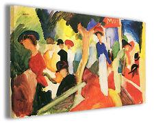 Quadro moderno August Macke vol VII stampa su tela canvas pittori famosi