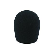 1 Bonnette Anti Vent Pour Micro Diamétre 35 mm / SM 58 Couleur Noir