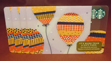 Lot of 5 Starbucks, 2017 BALLOONS Gift Cards New with Tags