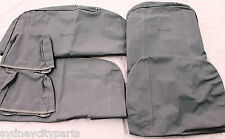 TOYOTA HILUX SEAT COVERS CANVAS SINGLE CAB BUCKET 3/4 FEB 05 - SEPT 11 GENUINE