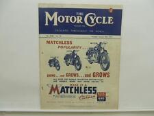 Jan 1947 The Motorcycle Magazine Matchless Clubman G3/L G80 Ariel BSA AJS L8593