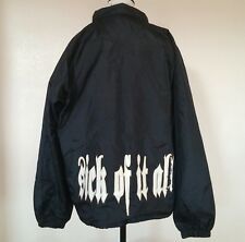 Sick Of It All Large Windbreaker Jacket New York Hardcore NYHC L Coat