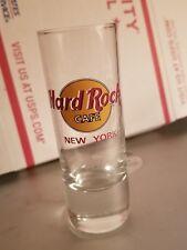 "Hard Rock Cafe 4"" Shot glass New York tall shooter"