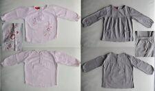 T SHIRT manches longues bébé fille / LOT 2 tee shirts rose gris Taille 18 mois
