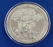 """2013 US 5ozt .999 Silver ATB """"GREAT BASIN"""" 25c BU++ w/capsule L9053"""