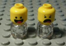 Lego Figur Zubehör Kopf Mann                                             (659 #)