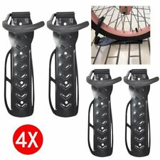 4 X Bike Storage Wall Mounted Hook Bicycle Steel Rack Hanger Holder Garage Stand