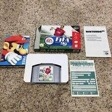 FIFA 99 (Nintendo 64, 1998) CIB Complete in Box