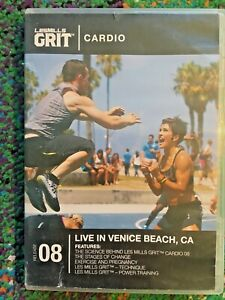 Les Mills GRIT CARDIO 08 Hiit Training DVD/CD and Booklet  -  MINT!