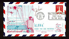 JIM IRWIN SIGNED POSTAL COVER AUTOGRAPH CERTIFIED AUTHNETIC  BAS