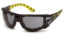 Pyramex Endeavor Plus Greenblack Foampadded Smokeanti Fog Safety Glasses Sun