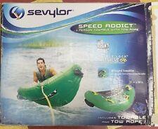sevlor speed addict towable tube w/rope