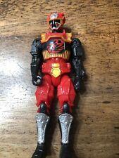 "Power Rangers Super Ninja Steel Lion Fire Armor 5"" Action Figure Bandai H"