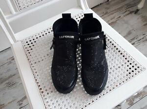 Cafe noir Sneaker schwarz Gliztersteine Glitzer Gr.38