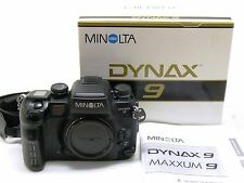 Minolta Dynax 9 / Maxxum 9 camera body, boxed EXC++ #28903