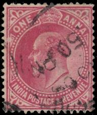 "INDIA 79 (SG150) - King Edward VII Definitive ""1907 Carmine Rose"" (pf62658)"