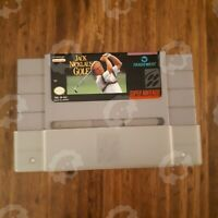 Jack Nicklaus Golf   ( Super Nintendo SNES ) Authentic/Cleaned/Tested