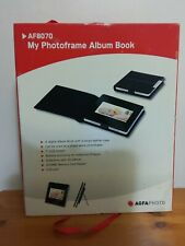 "Agfa AF8070 7"" Battery / Cordless Digital Photo Frame Album Book . Never used"