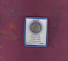 Watching Over KAYLEE Guardian Angel Keepsake Medallion by GANZ
