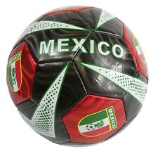World Cup Soccer Mexico Flag All Weather Soccer Ball Official Size 5