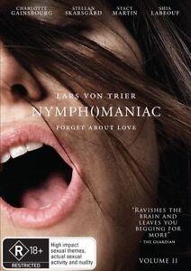 Nymphomaniac : Vol 2 (DVD, 2014) NEW+SEALED