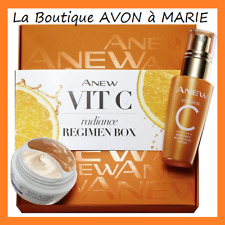 COFFRET Sérum ECLAT à la Vitamine C + Duo EYE LIFT CLINICAL ANEW AVON