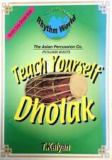 Teach Yourself Dholak Book
