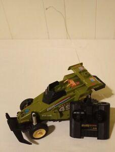 1987 Hasbro G.I. Joe ARAH - Delta 49 Crossfire RC Car WORKS W/ REMOTE **READ**