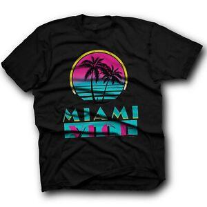 Miami Vice Inspired 80S 90S Tv Show Funny Retro Cult Film Movie T Shirt